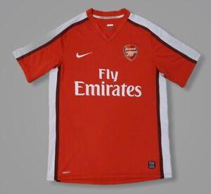 excepcional gama de colores disfruta del mejor precio elegir despacho Arsenal 2008 2009 2010 Home Football Soccer Shirt Jersey Camiseta ...