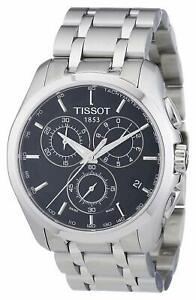Tissot-Men-039-s-T0356171105100-039-Couturier-039-Chronograph-Stainless-Steel-Watch