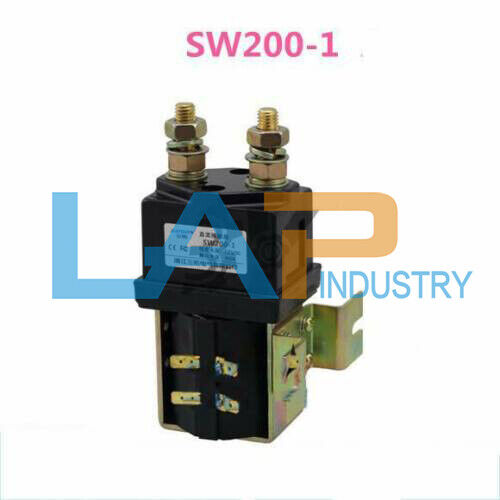 Solenoid 12 Volts Heavy Duty Albright SW200 Style Contactor