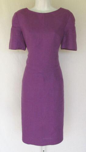 VINTAGE 1970s 80s MOD NIPON BOUTIQUE DRESS PURPLE