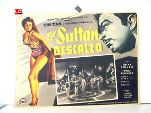 ONLY-AVAILABLE-24h-EL-SULTAN-DESCALZO-TIN-TAN-1956-OPTIONAL-SET-MEXICAN-LC