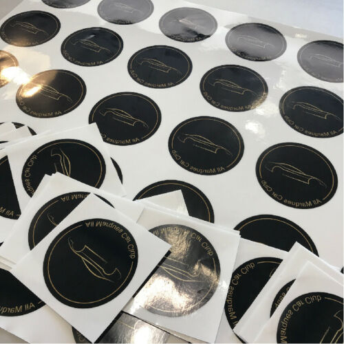 BULK STICKER PRINTING Custom Your Design Decals Labels Logo Stickers Printing