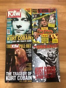 Nirvana-Tribute-Magazine-Raw-Pull-Out-And-Kerrang-Pull-Out-1994