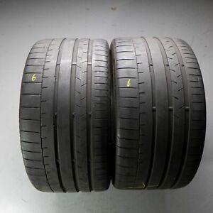 2x-Continental-SportContact-6-285-30-r20-99y-Dot-4417-5-mm-pneus-d-039-ete