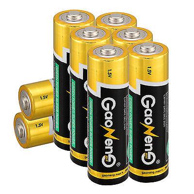 Lot of 8pcs Gaoneng Max AA 2A Alkaline Batteries 1.5v Batteries for Electronics