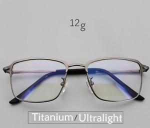 823c0590b3 Image is loading Pure-IP-titanium-Glasses-Deluxe-Vintage-Retro-Square-