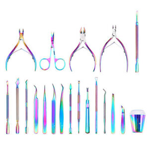 BORN-PRETTY-Nail-Art-Tool-Nipper-Nail-Cuticle-Scissor-Gel-Remover-Pusher-Stamper