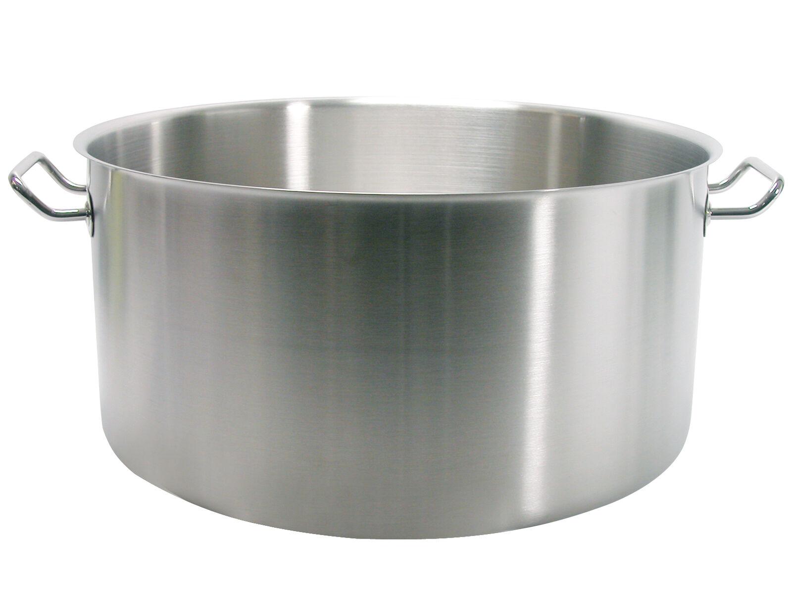 PARDINI Casseruola inox albergo media 2 manici Cm 40 pentola da cucina