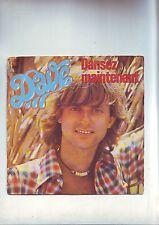 disque 45 tours DAVE - dansez maintenant / dimanche avec toi