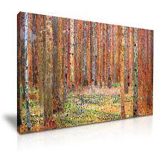 Gustav Klimt Tannenwald I 1901 Forest Canvas Wall Art Picture Print 76x50cm