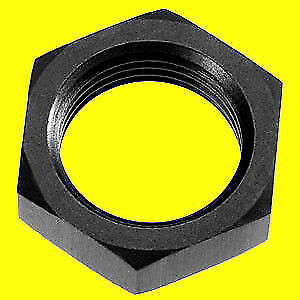 Bulkhead Nut Aluminum 8 AN 8AN Black Fitting