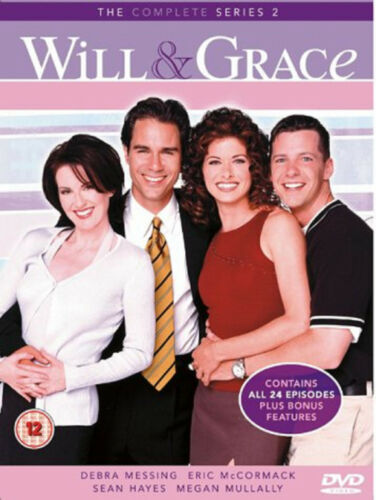 1 of 1 - WILL AND GRACE COMPLETE SERIES 2 DVD Second Season New Sealed UK Release R2