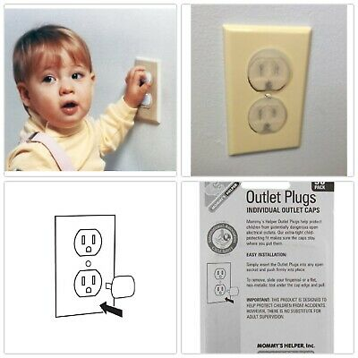 Mommy/'s Helper Outlet Plugs 36 Count