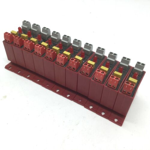 18-32V DC Output 3-60V DC Lot Of 11 Crouzet Gordos DR-ODC24 I//O Modules Input