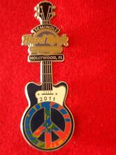 HRC Hard Rock Hotel Hollywood Florida Peace Guitar 2011 LE300 Cafe