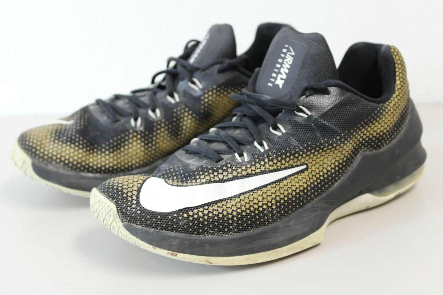 Nike Air Max Infuriate Low sneakers shoes golden black Price reduction Brand discount