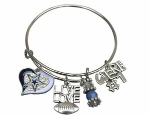 Details About Dallas Cowboys Bracelet Womens Jewelry Gift