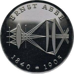 DDR-20-Mark-1980-Ernst-Abbe-J-1575-Silber-M305