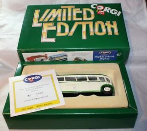 Corgi-AEC-Regal-Coach-West-Riding-Boxed-97185-amp-COA