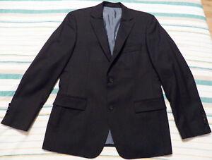 HUGO-BOSS-Pasolini-MENS-JACKET-EU-50R-UK-US-40R-dark-blue-wool-blazer-sport-coat