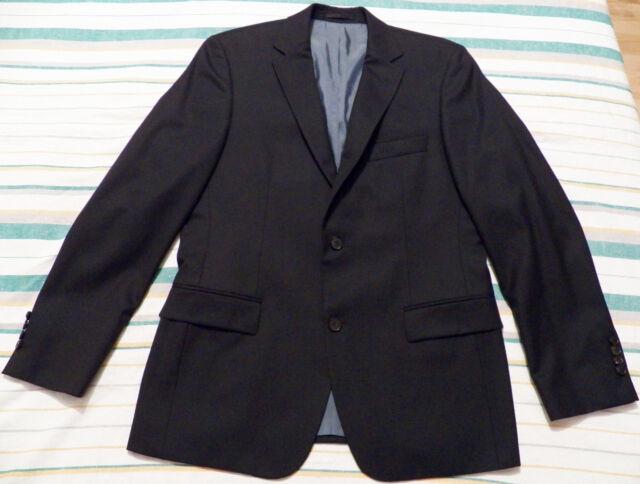 HUGO BOSS Pasolini MENS JACKET EU 50R UK-US 40R dark blue wool blazer sport coat