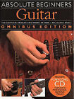 Absolute Beginners: Guitar - Omnibus Edition: Bks.1 & 2 by Music Sales Ltd (Paperback, 2002)