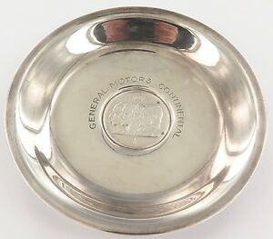 UNUSUAL-c1950-s-GENERAL-MOTORS-CONTINENTAL-835-SOLID-SILVER-DISH-BELGIUM-100F