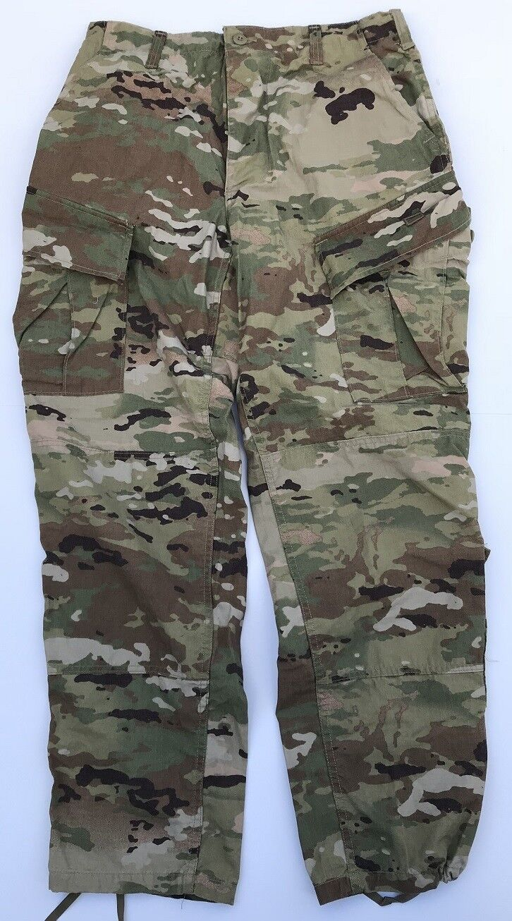 Us Army Ocp Acu Scorpion Combat Uniform Outdoor Camo Pants Nyco Pants Small Long