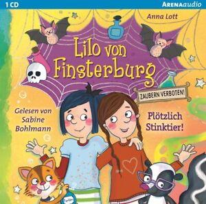 LILO-VON-FINSTERBURG-ZAUBERN-VERBOTEN-2-LOTT-ANNA-PLOTZLICH-STINKTIER-CD-NEW