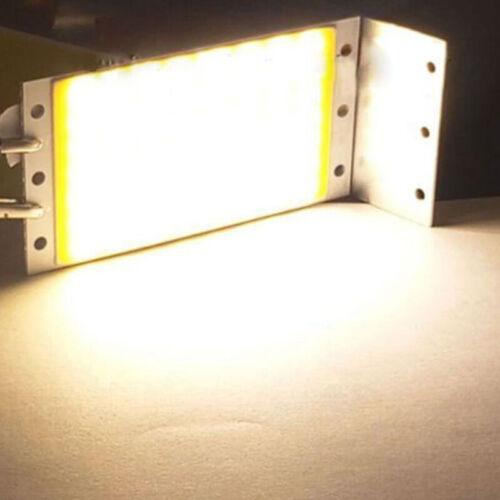 15W COB LED Panel Strip Light DC 12V-24V F DIY Car Lamps 2700-6500K Light Boards
