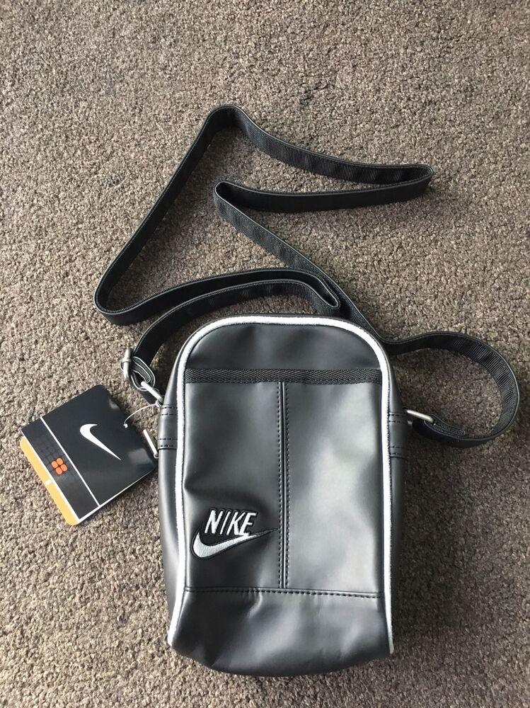 Nike Heritage Sac objet Sac noir exclusif rare très difficile à trouver Rétro- Chaussures de sport pour hommes et femmes