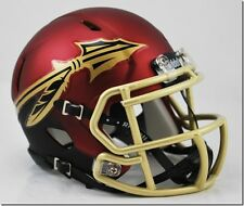 Florida State Seminoles NCAA Speed Mini Helmet - NEW GARNET 2016 MATTE STYLE
