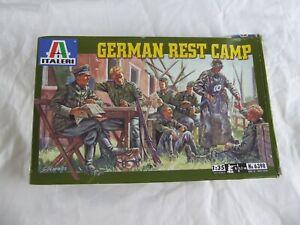 Brillant Italeri 6398 German Repos Camp (7 Figurines + Autres Pièces X 1:35) (2002) - Neuf Dans Beaucoup De Styles