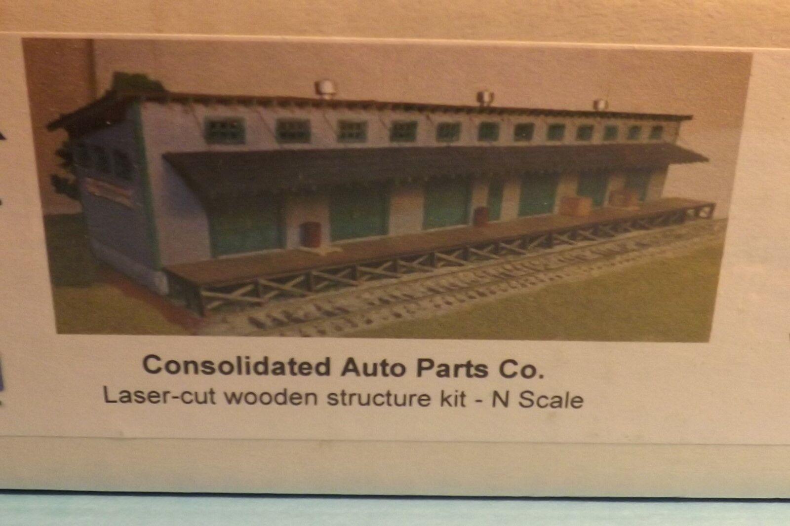 N SCALE  CONSOLIDATED AUTO PARTSW MOTRAK MODELS