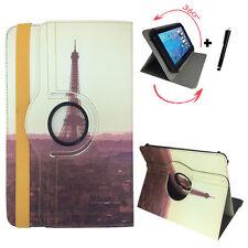 7 zoll Tablet Tasche - Xoro TelePAD 7A3 10A3 Umts  Etui - 360° Paris 2 Motiv 7