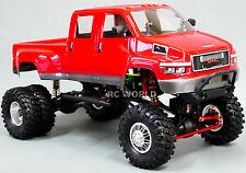 Custom Axial SCX10 1/10th RC Truck GMC TOP KICK DUALLY 4WD 1.9 Rock Crawler RTR