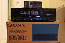 VERY NICE SONY STR-AV950 AM/FM AMPLI-TUNER RECEIVER WITH REMOTE AND ORIGINAL BOX