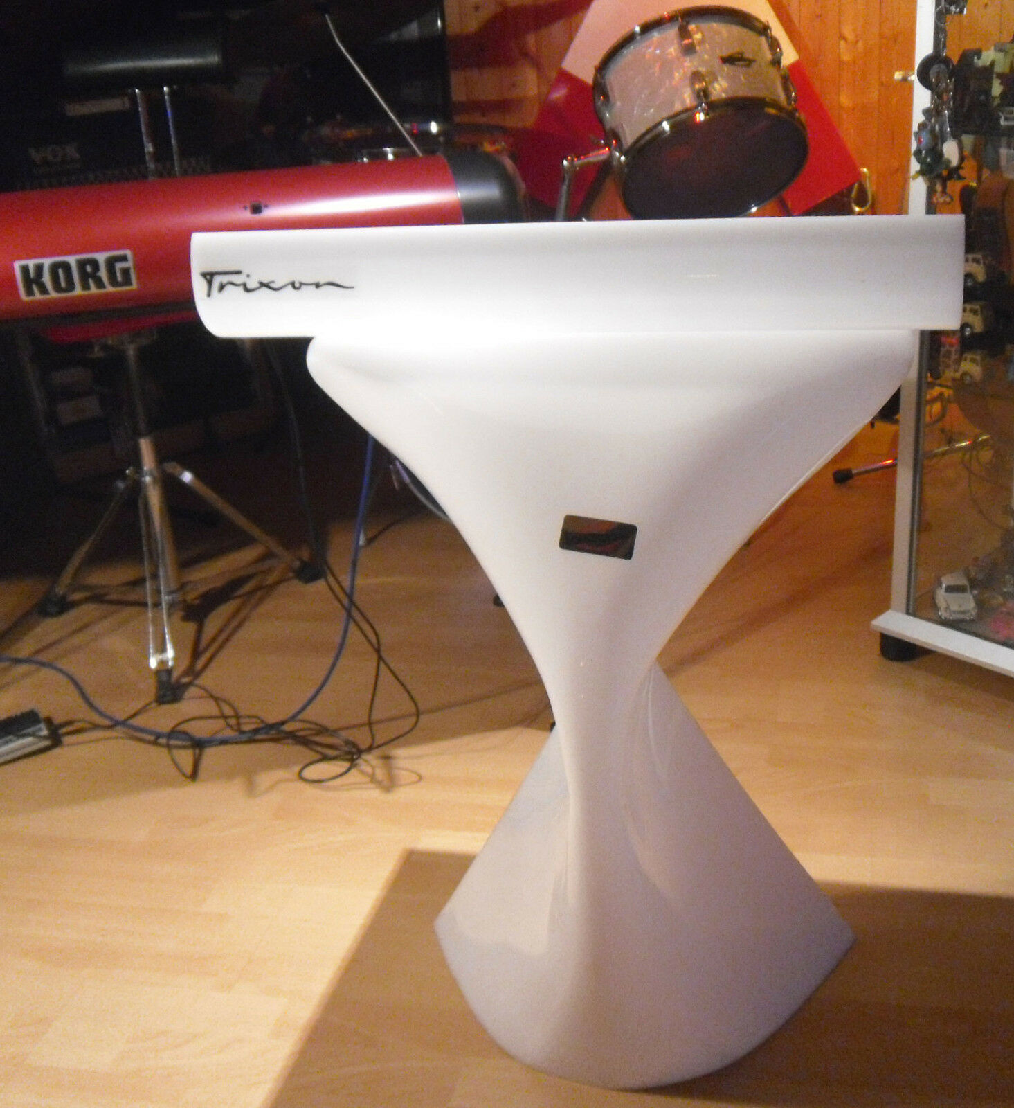 Orig. 60ties Trixon Notenpult orchestra desk  raumpatrouille orion retro design