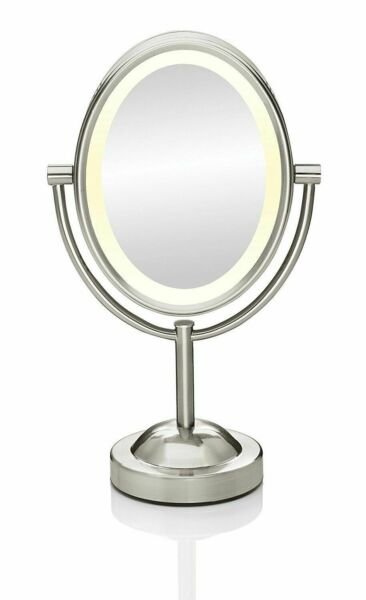 Conair Oval Shaped Double Sided Lighted Makeup Mirror