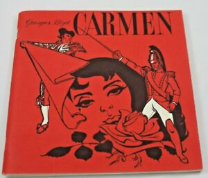 Georges-Bizet-Carmen-Opera-1951-RCA-Fritz-Reiner-Play-Book-Sheilah-Beckett