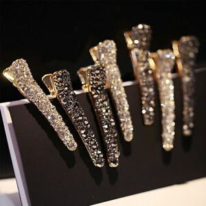 Women-Crystal-Rhinestone-Pearl-Hair-Clip-Spring-Princess-Hair-Accessories
