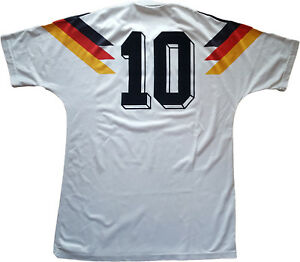 76bf47dfb maglia germania 1990 adidas vintage Home Jersey World Cup Mondiali ...