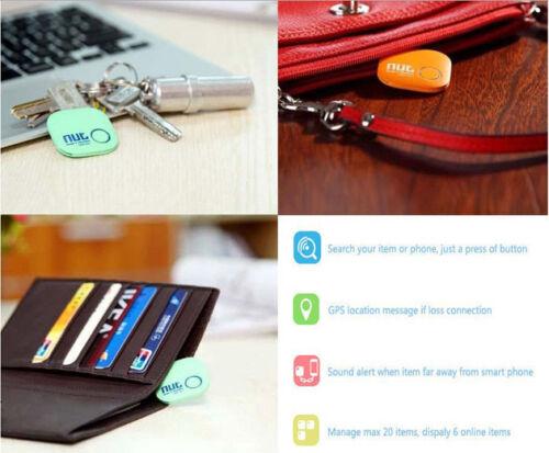 Smart Nut 2 Tag Bluetooth Tracker Wallet Key Bag  Finder GPS Locator Alarm New