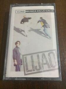 LIJAO-MUSICA-EN-LA-CALLE-MC-K7-CASSETTE-TAPE-CINTA-NEW-SEALED-NUEVA-EMBALADA