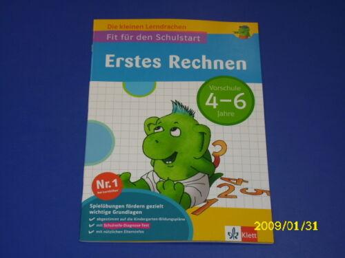 1 von 1 - Lerndrachen Fit für den Schulstart Erstes Rechnen 4-6 J