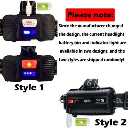 150000LM CREE XML T6 LED Headlamp Rechargeable Head Light Flashlight 18650 Torch