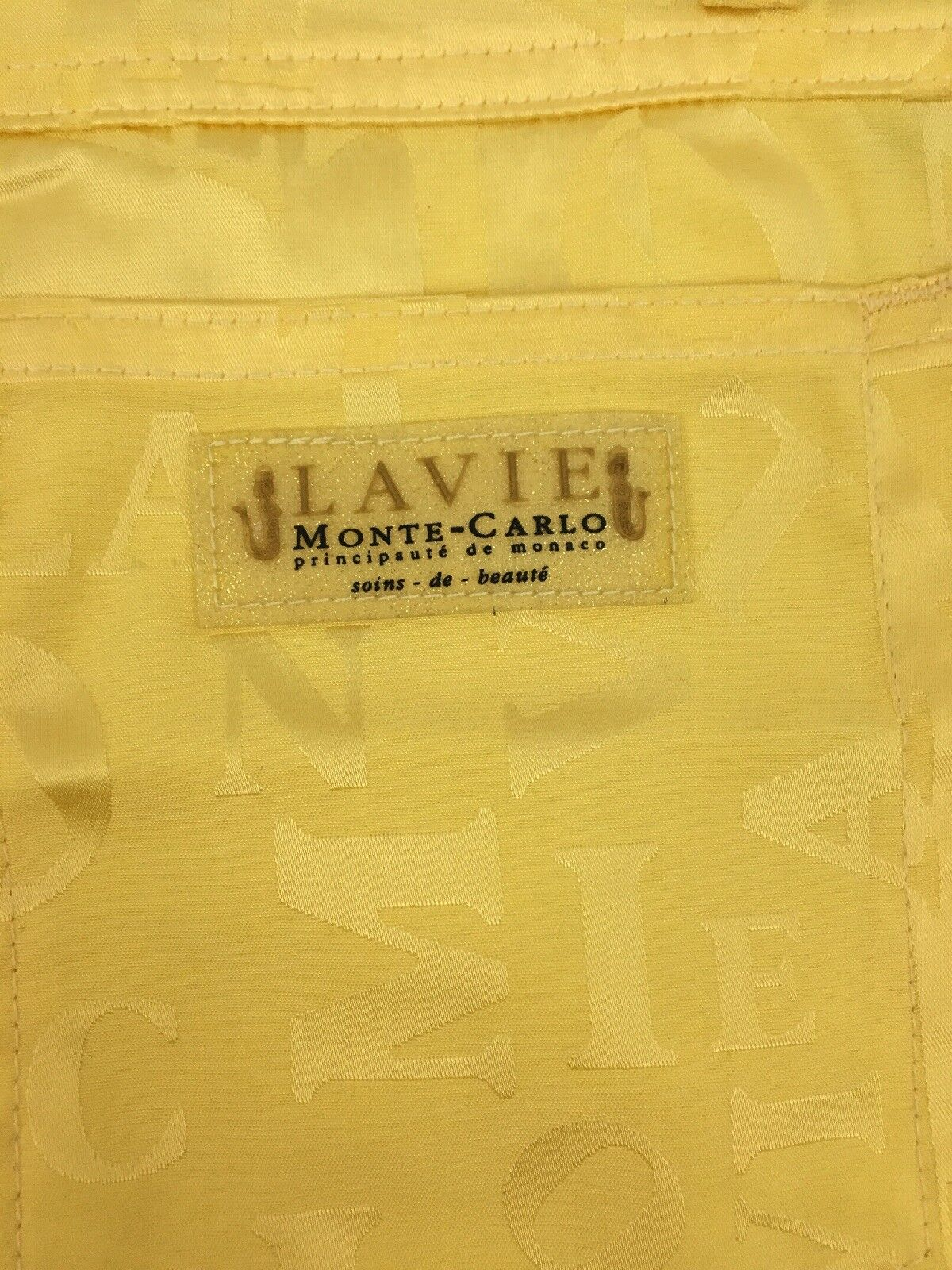La Vie MONTE CARLO Principaute de Monaco Yellow W… - image 8