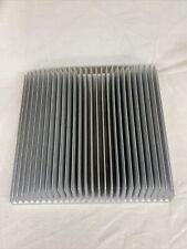 Large Aluminium Heatsink 320 X 300 X 75mm 125 X 12 X 3 Approx 55kg