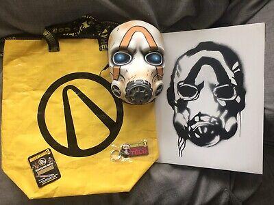 Gearbox 2K Borderlands 2 Psycho Bandit Mask Cosplay Hard Vinyl One Size