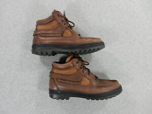 Timberland GORE TEX Waterproof Leather Hiking Boots (Mens Size 9) Brown